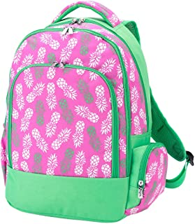 Reinforced Design Water Resistant Backpack (Pink Pineapple)