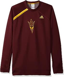 adidas NCAA Arizona State Sun Devils Mens On Court L/S Shooting Shirton Court L/S Shooting Shirt, Maroon, Medium