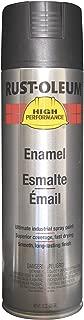 Rust-Oleum V2177838 V2100 System Enamel Spray Paint, 15-Ounce, Semi-Gloss Black