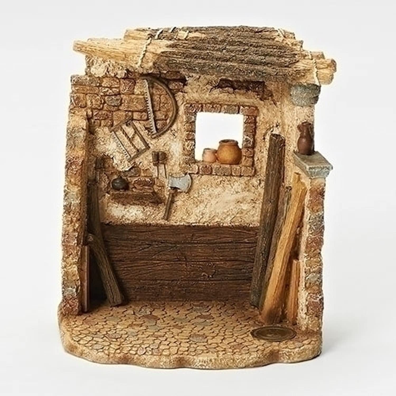Fontanini Roman 6.5  Carpenters Shop for the 5  Scale (55589)