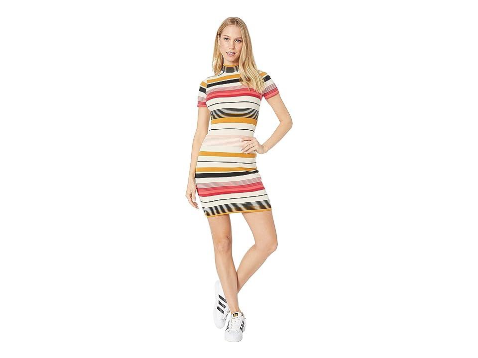 Billabong Stay Golden Dress (Multi) Women