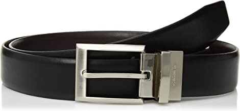 Calvin Klein Men's Smooth Leather Reversible Belt