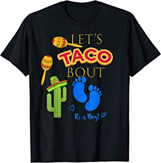 Lets Taco Bout Shirt Mexican Fiesta Baby Boy Shower Party