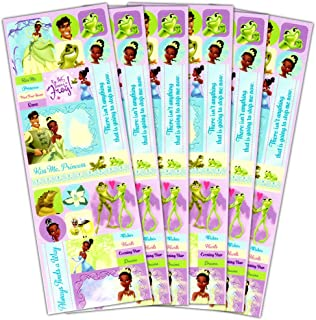 Disney Princess and the Frog Stickers Party Supplies Pack -- Over 100 Princess and the Frog Stickers featuring Princess Tiana