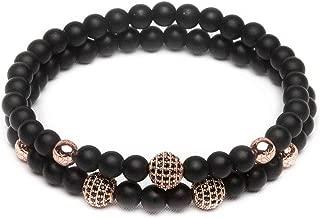 black onyx bracelet gold