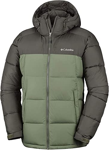 Columbia Veste d'Hiver Imperméable Homme, PIKE LAKE HOODED JACKET, polyester, WO0020