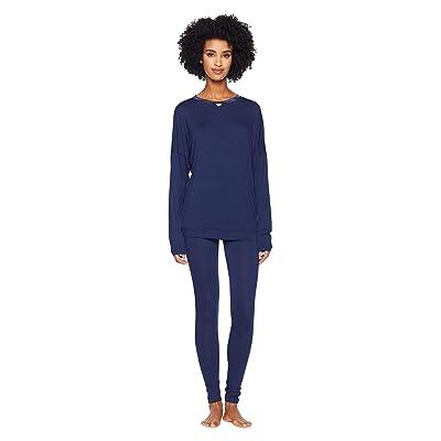 Emporio Armani Viscose Dreaming Pajamas (Deep Blue) Women