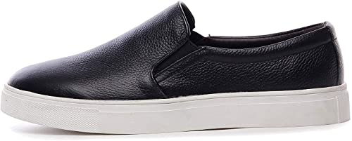 Oudan Herren SchwarzCasual Stiefel Deck Loafers PU-Leder Schuhe (Farbe   Schwarz Größe   UK 8 Label 44)