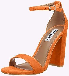 cc83496abc6fa4 Amazon.fr : Orange - Sandales / Chaussures femme : Chaussures et Sacs