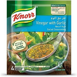 Knorr Salad Mixes Vinegar & Garlic - 10gm (Pack of 4)
