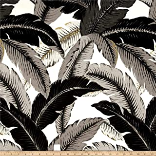 Tommy Bahama Indoor/Outdoor Swaying Palms Fabric, Onyx