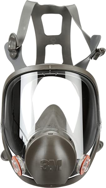 3M Full Facepiece Reusable Respirator 6800 Paint Vapors Dust Mold Chemicals Medium