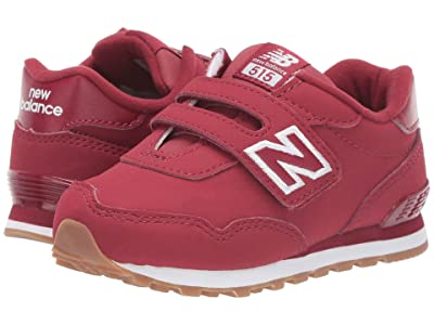 New Balance Kids 515v1 Classic (Infant/Toddler) (NB Scarlet/White) Boys Shoes