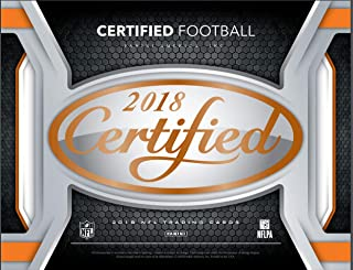 2018 Panini Certified Football Hobby Box (10 Pack s)(Sealed)