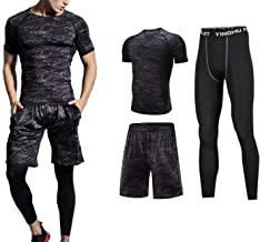 Romantico Compression Jogging Sport Suits for Men Running Set Quick Dry Sports Training Gym Suit Fitness Tracksuit
