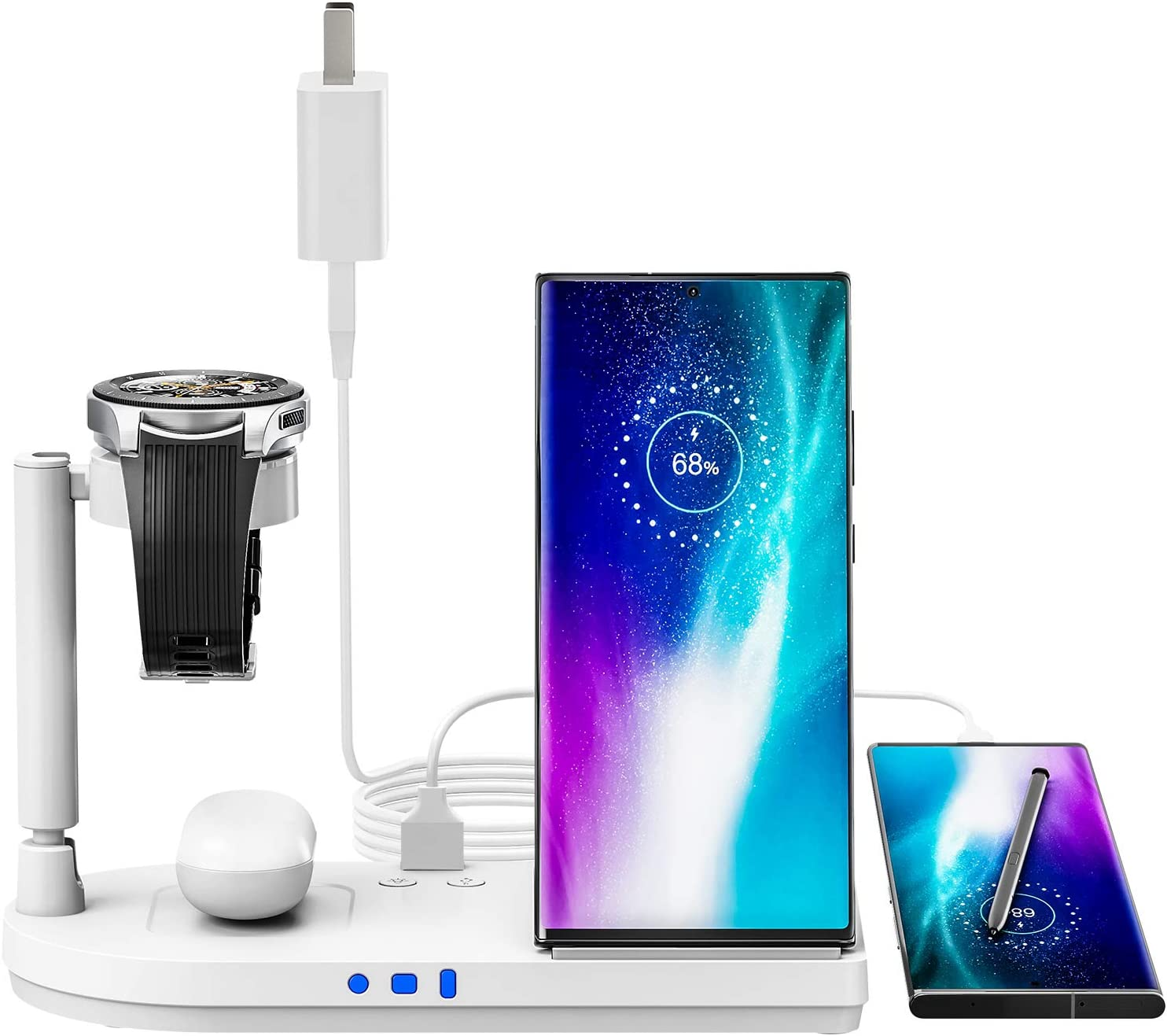 Wireless Charger Superior Earteana 4 in Stan Al sold out. Station 1 Charging
