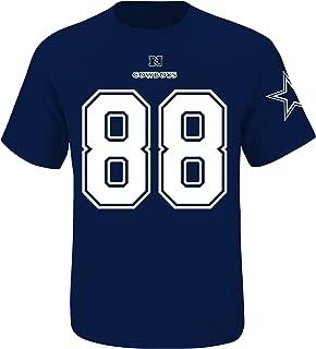 Dez Bryant Dallas Cowboys #88 Men's Big and Tall Player Tee Navy (4XL)