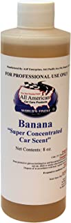 All American Super Concentrated Car Scent Air Freshener - Banana - Mix to Make 1 Gallon
