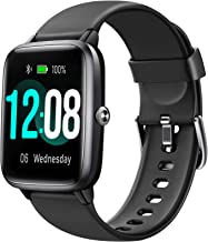 Letsfit Smart Watch, Fitness Tracker with Heart Rate Monitor, Activity Tracker with 1.3 Inch Touch Screen, IP68 Waterproof...