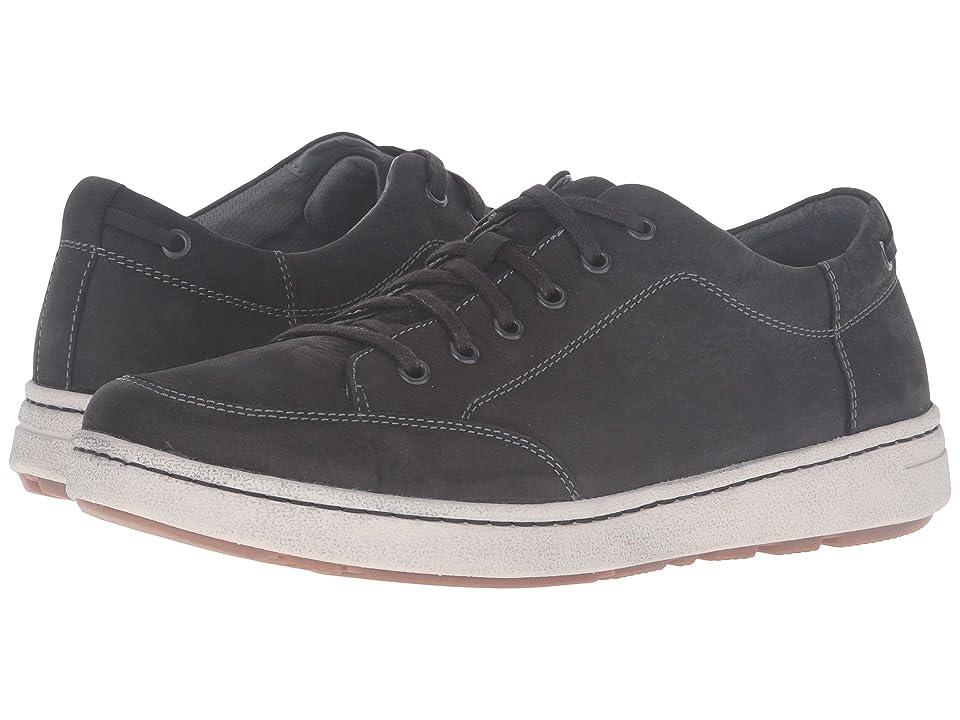 Dansko Vaughn (Black Milled Nubuck) Men's Lace up casual Shoes