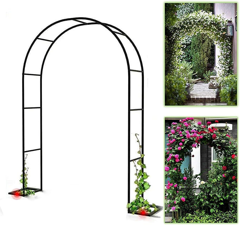 Rose Arch Super beauty product restock quality top! Garden Arbor Max 70% OFF Trellis Dec Party Iron Bridal
