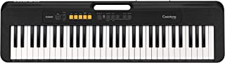 Casio CT-S100AD 61 Key Slimline and Super compact Portable Electronic Keyboard in Black with AC Adapter Included Black one...