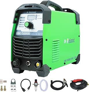 Reboot Plasma Cutter 50Amps,110V/220V Dual Voltage Plasma Cutting Machine Compact Metal Cutter AC 1/2