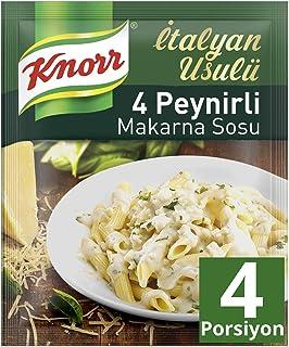 Knorr İtalyan Usulü 4 Peynirli Makarna Sosu 50G