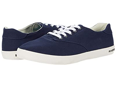 SeaVees Palm AVE Plimsoll (Navy) Women