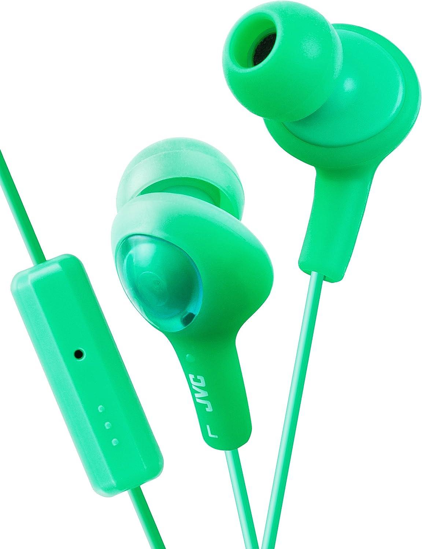 JVC HAFR6G Gumy Plus Headphones (Pistachio Green)