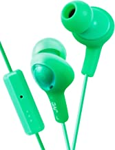 JVC HAFR6G Gumy Plus Headphones (Pistachio Green)
