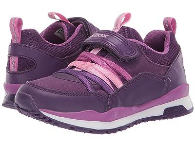 Geox Kids Jr Pavel 6 (Toddler) (Medium Purple) Girls Shoes