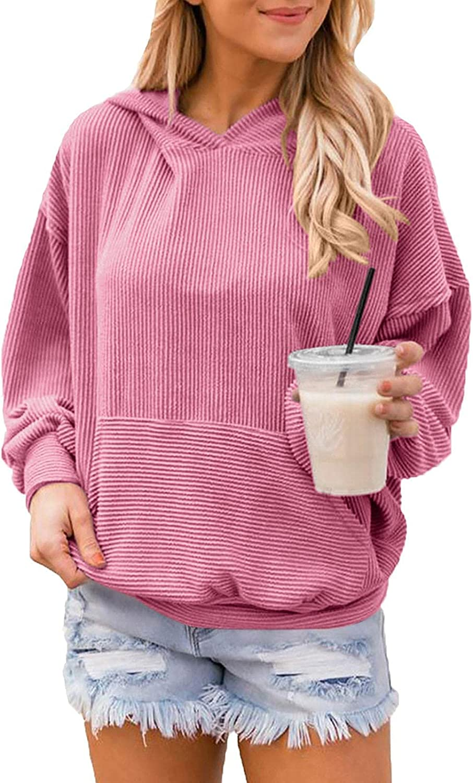 PINKMSTYLE Womens Oversized Hoodies Dolman Long Sleeve Shirts So