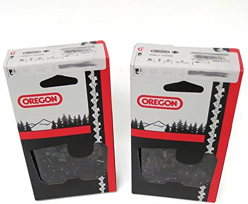 high quality 2 Pack, OREGON 72LPX072G new arrival 72 Drive Link Super 70 high quality Chisel Chain, 3/8-Inch online