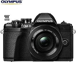 Olympus OM-D E-M10 Mark III Mirrorless Digital Camera with 14-42mm EZ Lens Kit (Black) V207072BU010 – (Certified Refurbished)