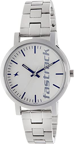 Fastrack Fundamentals Analog White Dial Women's Watch NM68010SM01 / NL68010SM01