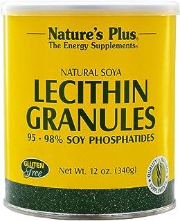 NATURES PLUS LECITHIN GRANULES 12 OZ 340 G CANS