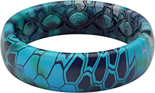 Groove Life - Silicone Ring for Men and Women Wedding Rubber Band with Lifetime Coverage, Breathable Grooves, Comfort Fit,...