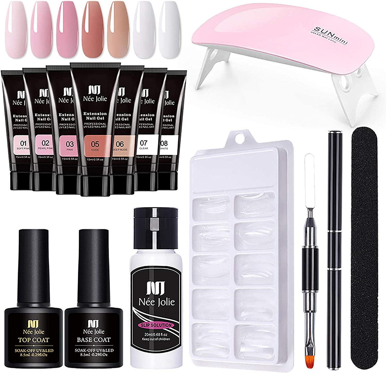 Tuaha Great interest Nail Gel Set with Starter Kit Mesa Mall Extension
