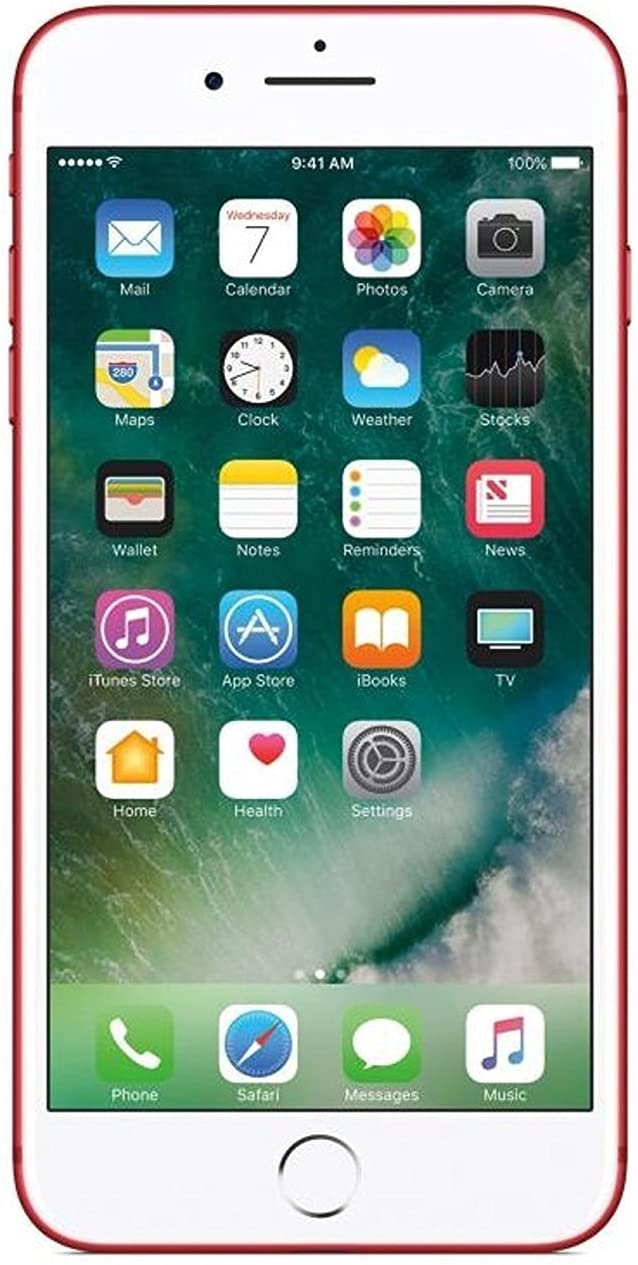 Manufacturer OFFicial shop Apple iPhone 7 128GB Red NEW For Renewed ATT -