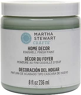 Martha Stewart Crafts Home Decor Eggshell Paint: Eucalyptus (8 Ounce)