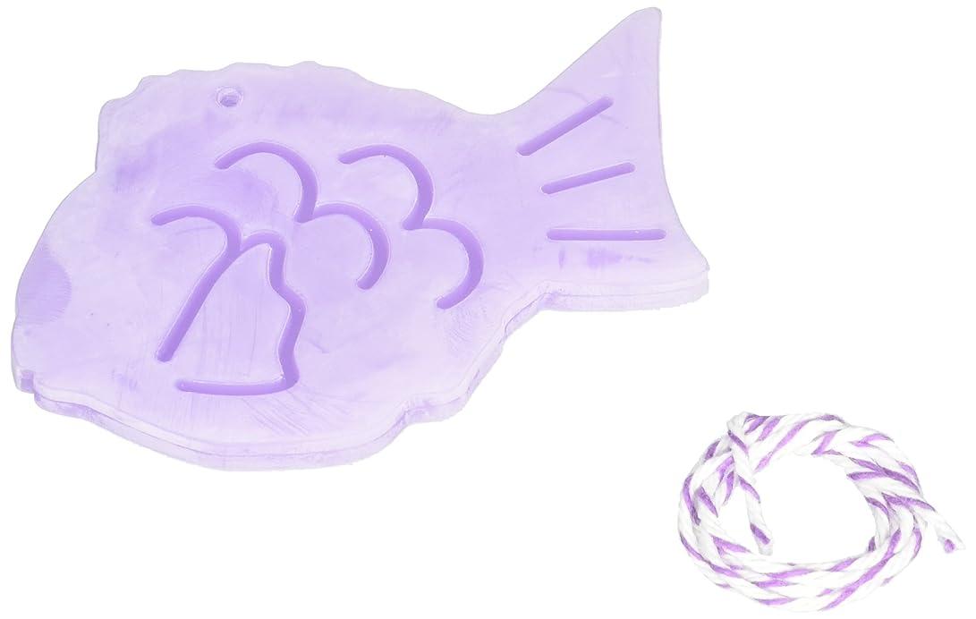 熟読好色な細分化するGRASSE TOKYO AROMATICWAXチャーム「鯛」(PU) ラベンダー アロマティックワックス グラーストウキョウ