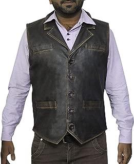 KAAZEE Cullen Bohannon Hell Mount Leather Vest
