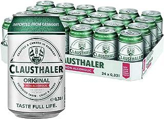 ドイツ産 ノンアルコールビール クラウスターラー 330ml×24本 ノンアル ビールテイスト ケース販売 ビアテイスト 長S