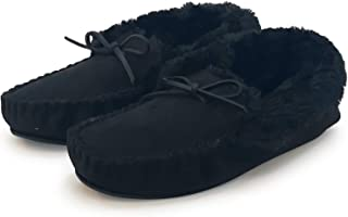 Susan 18 Women Moccasin Slippers, Warm Comfort Cozy Soft House Shoes with Fuzzy Plush Fur Lining, Casual Slip On Shoe Slip...