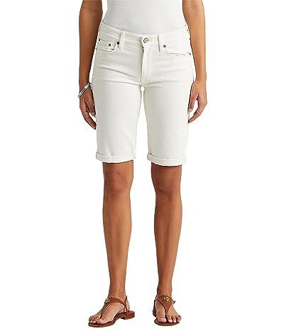 LAUREN Ralph Lauren Cuffed Denim Bermuda Shorts