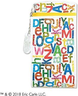 セントレディス エリックカール(はらぺこあおむし) 胸ポケット用ペンケース アルファベット イエロー 【ST-ZE0005】