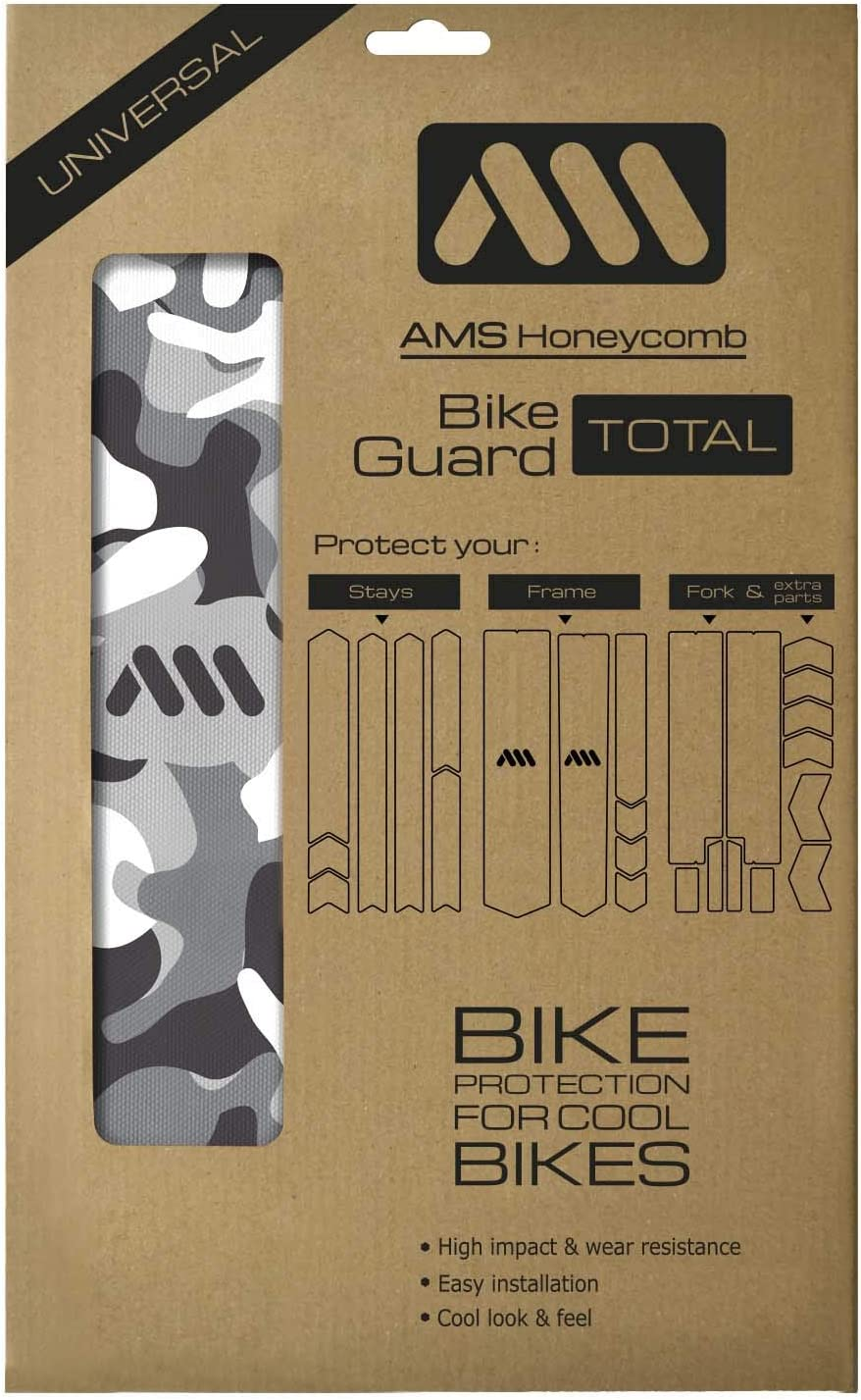 Gold//Couture All Mountain Style Extra Honeycomb Frame Guard