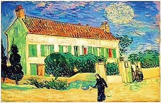 Puzzle World Masterpiece Jigsaw Van Gogh Impressionist Oil Painting House 500/1000/1500 Parent-child Game Toy Decorative P...