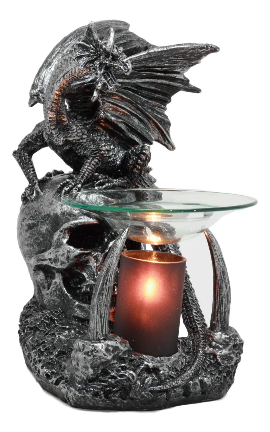 Ebros Gothic Sabretooth Skull Graveyard Dragon Electric Oil Burner Or Tart Warmer Decor Statue 8 5 Tall Home Fragrance Aroma Accessory Figurine Buy Online In Botswana At Botswana Desertcart Com Productid 96465604